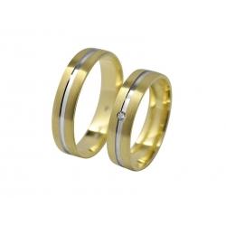Snubní prsteny Elegance 1118C