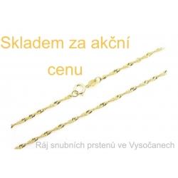 Zlatý řetízek - 14 karátů