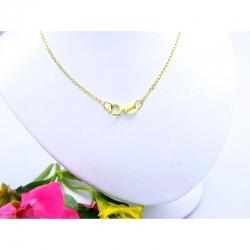 Zlatý řetízek 36,5 cm