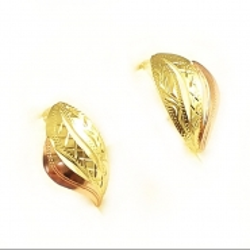 Zlaté náušnice 14 karátů