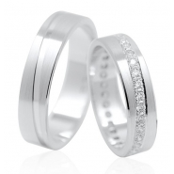 Zlaté snubní prsteny vel. 52+62
