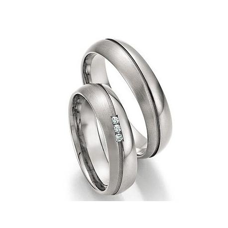 Snubní prsteny z titanu BRILLIANT SHINE 2018