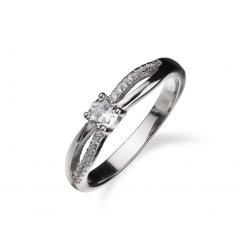 Stříbrný prsten AG 925