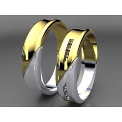 Snubní prsteni  DEVONE 330 1503