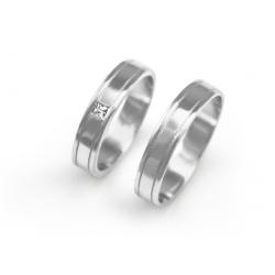 Výběr z kolekce - snubní prsteny devone pár od 7.990,- Kč