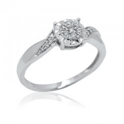 Zásnubní prsteny se zirkony Kolekce  Romantik luxury