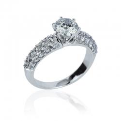 Luxusní zásnubní prsteny s brilianty Kolekce Luxury premium