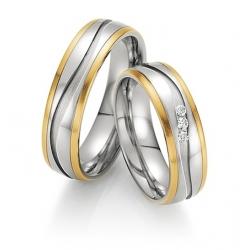 Snubní prsteny celé páry-skladem v prodejně