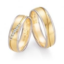 Luxusní značkové snubní prsteny s brilianty