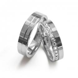Zlaté snubní prsteny  kolekce  FOR LIFE nyní akce SLEVA - 15 %