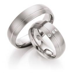 Ukázka z kolekce  Snubní prsteny Titan Briliant  kus od 2.199,- Kč