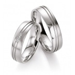 Ukázka  Luxusní  snubní prsteny  stříbro s brilianty  kus od  2399.-Kč